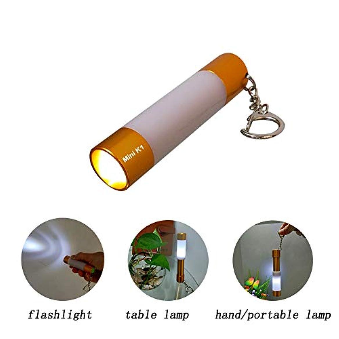 改革ゴシップダースミニフォーカス 懐中電灯 キャンプ ランプ テーブルランプ 小型 明るい防水 単3電池使用 EDC 犬の散歩 読書 睡眠 キャンプ ハイキング 緊急時に最適