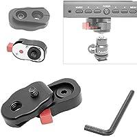Fomito® クイックシュープレート for 液晶モニター マジック アーム LEDカメラ ビデオカメラ リグ