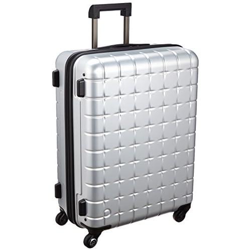 [プロテカ] ProtecA 日本製スーツケース 360(サンロクマル)メタリック 61L 02618 11 (シルバー)