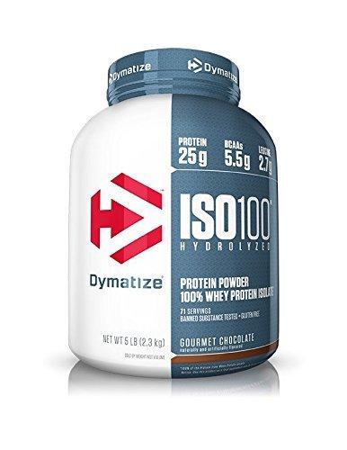 ISO-100 100%加水分解ホエイプロテイン単離物 チョコ2275g 海外直送品