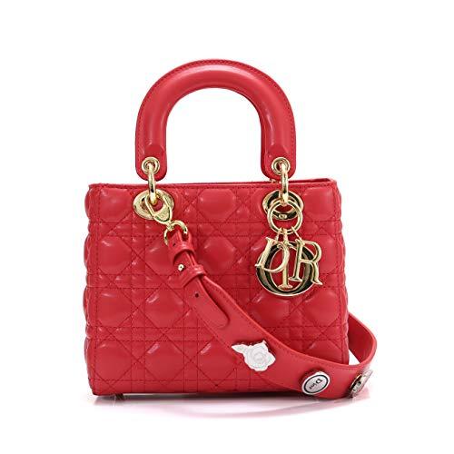 Dior(ディオール) MY LADY DIOR バッグ ラムスキン ラージストラップ付き [並行輸入品]