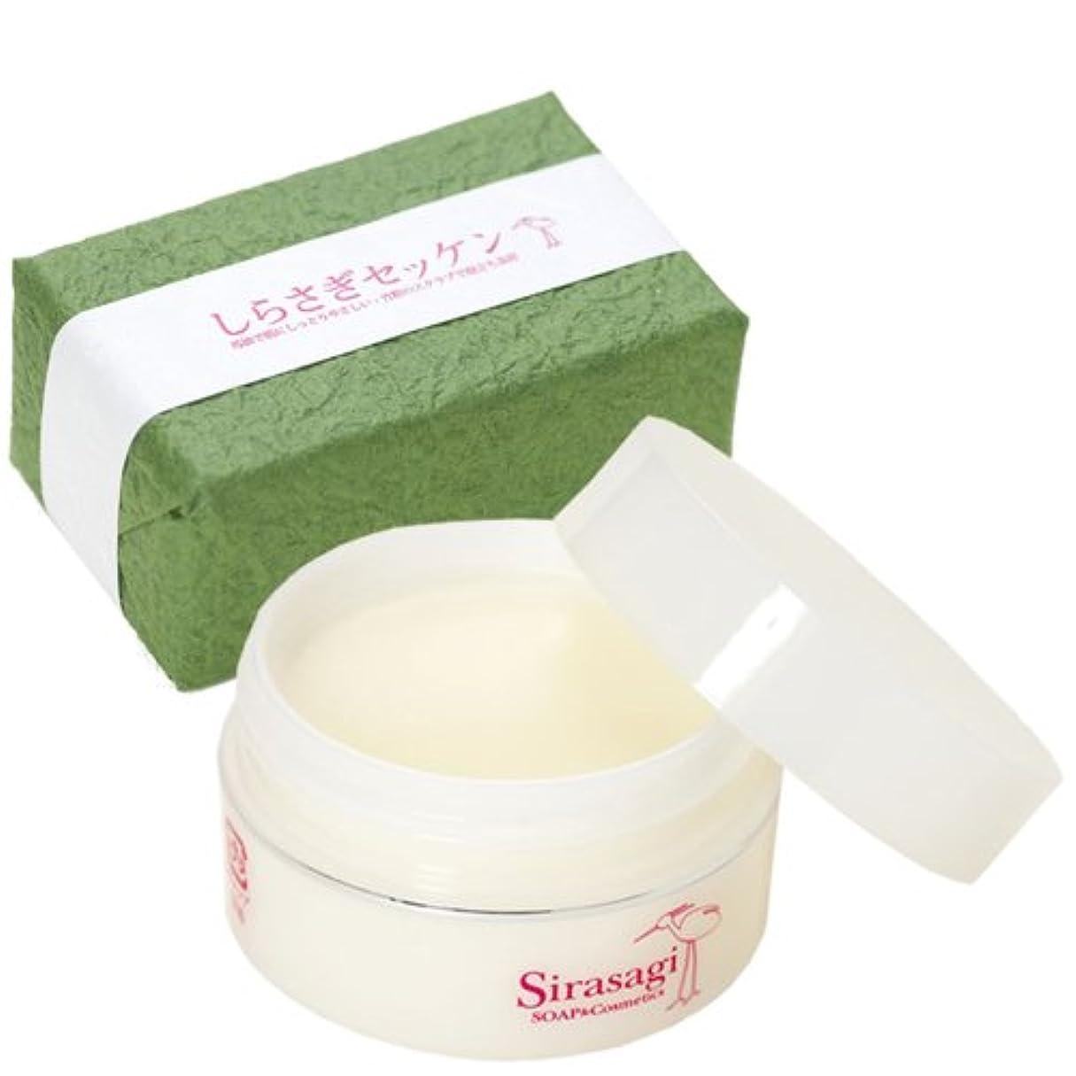 不毛複数汚染されたしらさぎ化粧品 しらさぎクリームとしらさぎセッケンのセット ラベンダー&ローズウッド 30g+90g