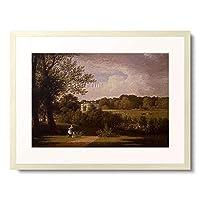 Hofland, Thomas Christopher,1777-1843 「Malerin im Park von White Knights.」 額装アート作品