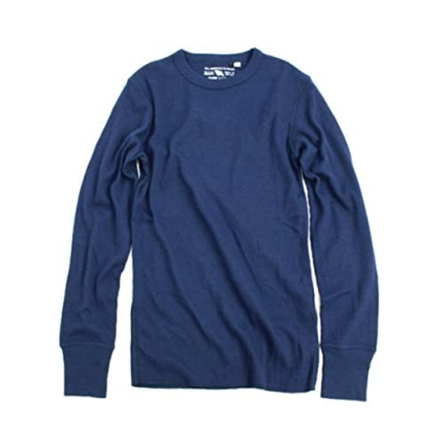(アヴィレックス)AVIREX DAILY THERMAL CREWNECK TEE 6153515 87NAVY NAVY L Tシャツ
