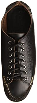 Sneaker Moc OX w/ Boat Sole 10600M: SG Black