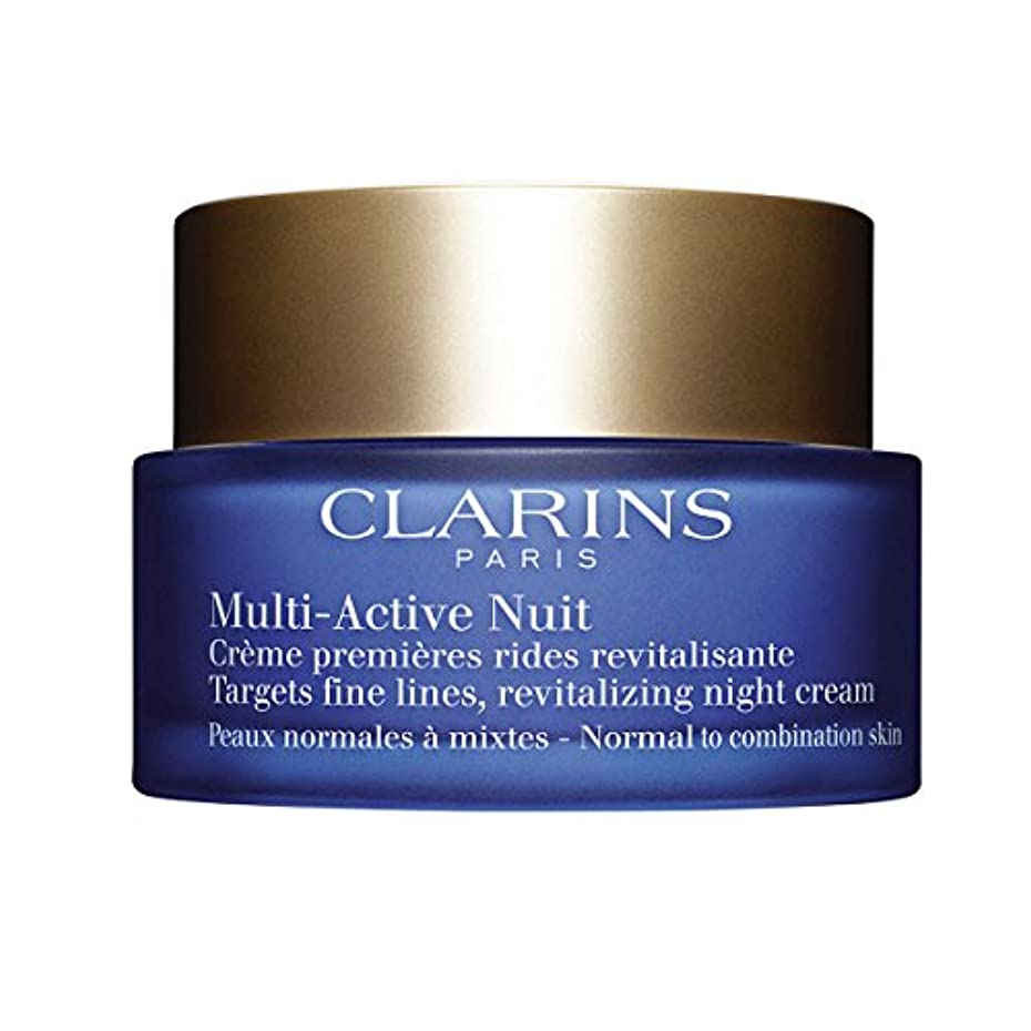 居住者アルカイック対象Clarins Multi-active Night Normal To Combination Skin 50ml [並行輸入品]