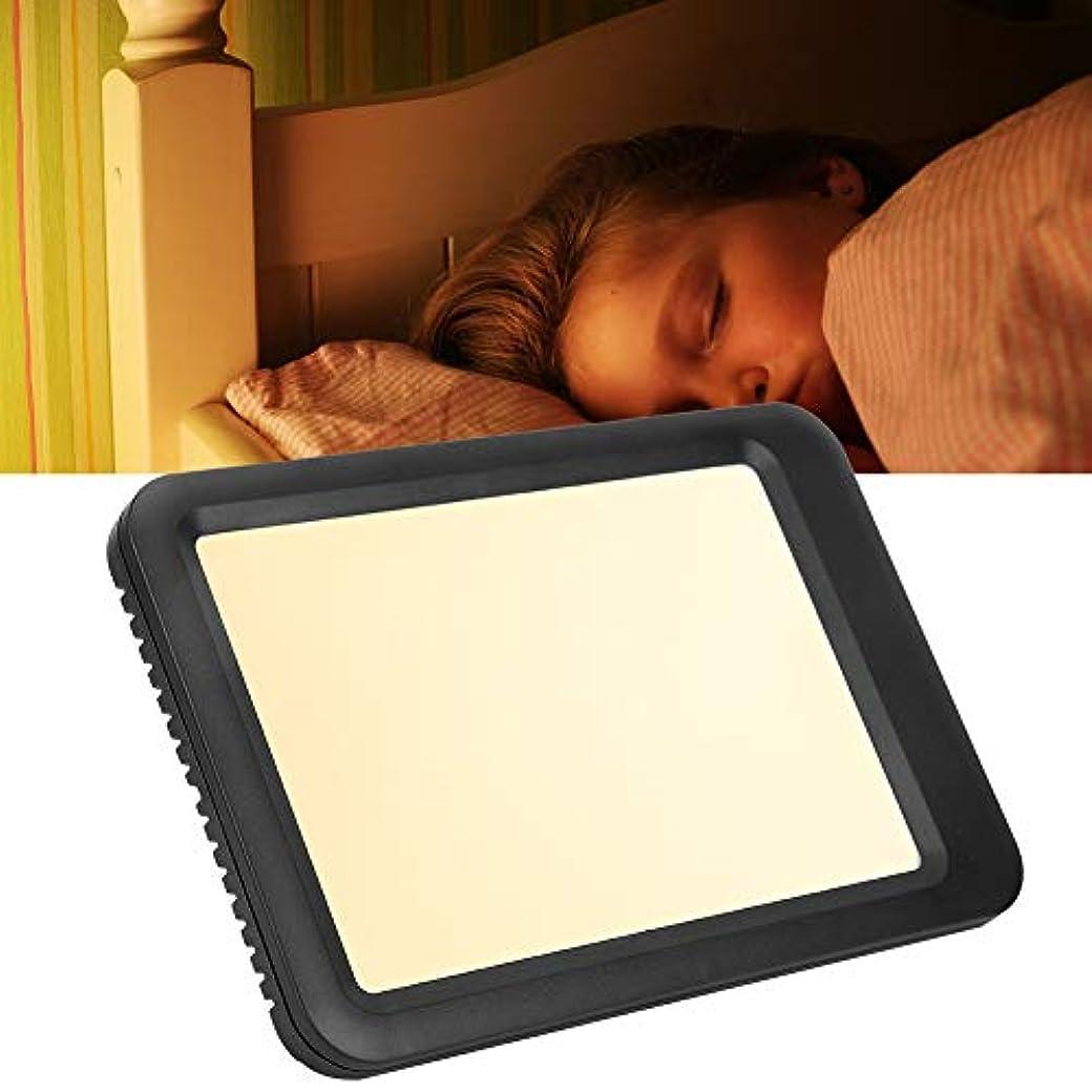 また隣接ボタン光療法ランプ、悲しい療法ランプ、調節可能な白色光と温光、情動障害治療用ライト(リモコン付き)