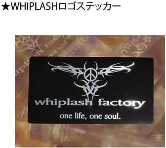 ウィップラッシュファクトリー WHIPLASHロゴステッカー