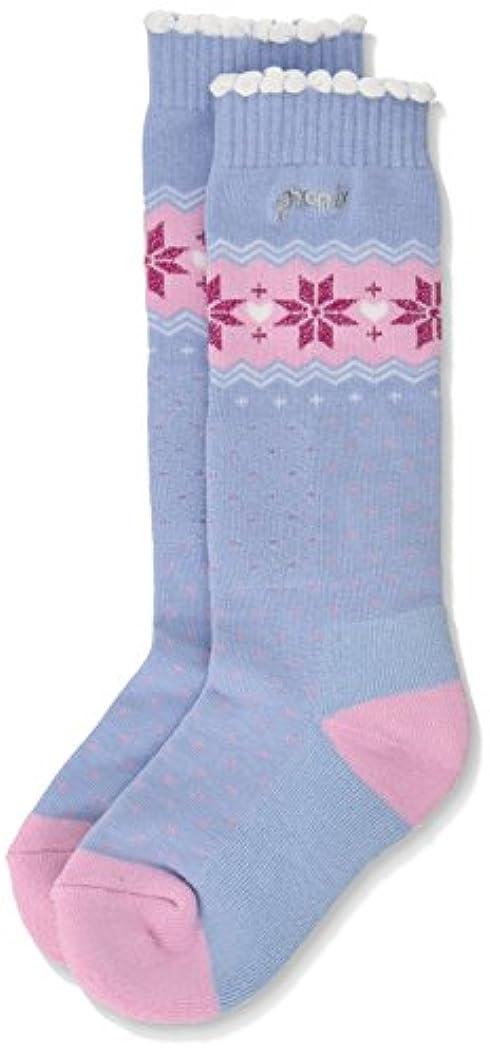 雄弁な前述のでSnow Crystal Girl'S Socks