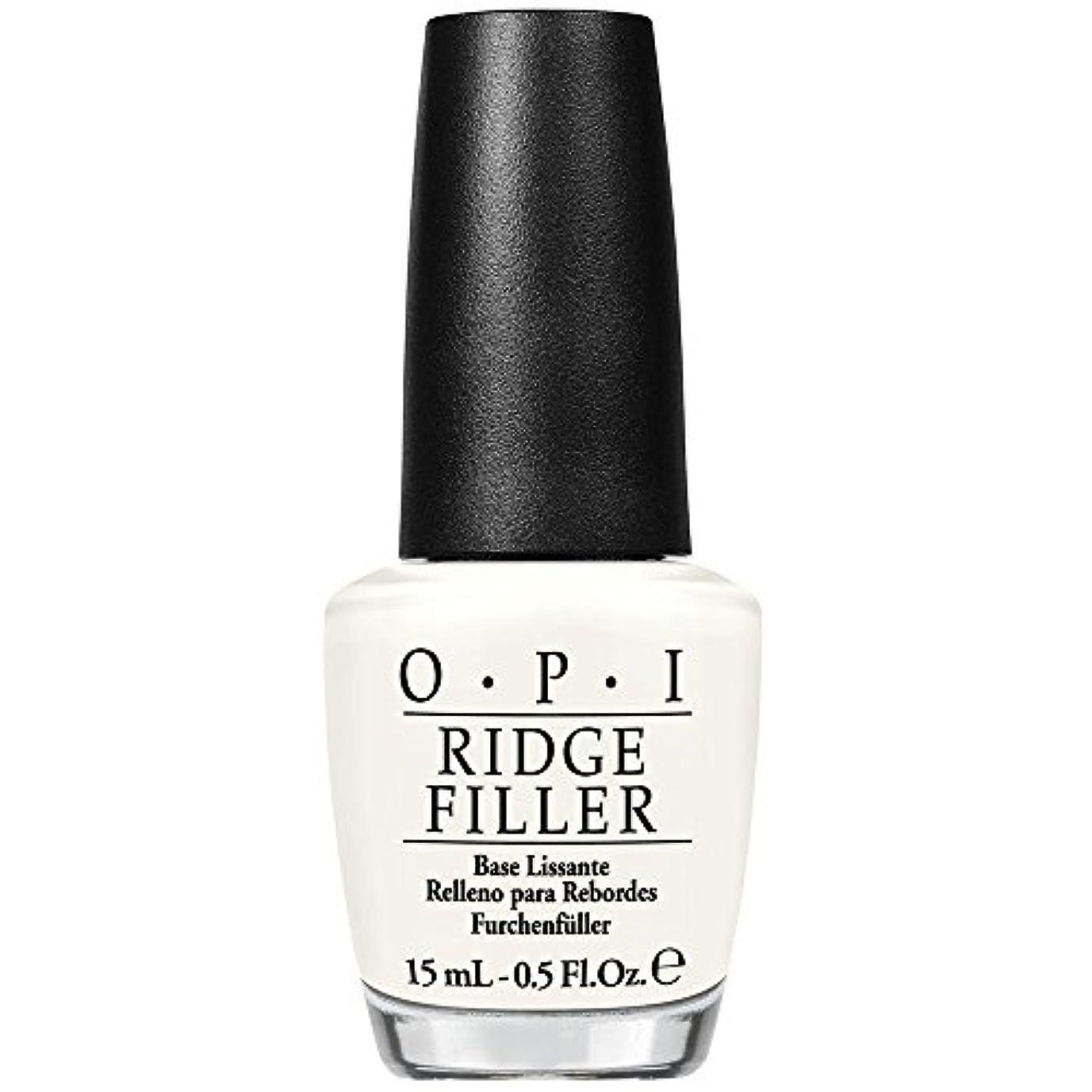 楽しませる対処する注意OPI(オーピーアイ) リッジフィラー