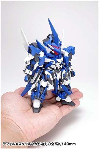『ウェーブ SUPER ROBOT HEROES イクスクレア 全高約14cm ノンスケール 色分け済みプラモデル KM-036 (メーカー初回受注限定生産)』の11枚目の画像
