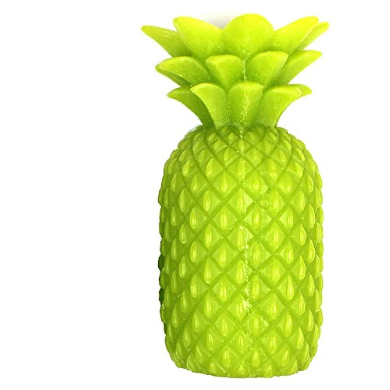 密度絶えずワードローブパイナップルキャンドル L グリーン