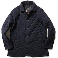 (ビームスライツ) BEAMS LIGHTS/CARREMAN Thermore キルティングコート 51180009012 SMALL ブルー