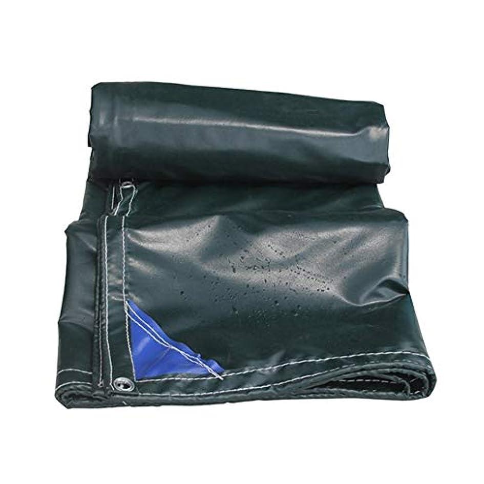 あそこ海里比較的耐火布肥厚防雨難燃オーニング布車トラック防水シートキャンバスオーニング布、利用可能なサイズの様々な (Size : 4.5mX8m)