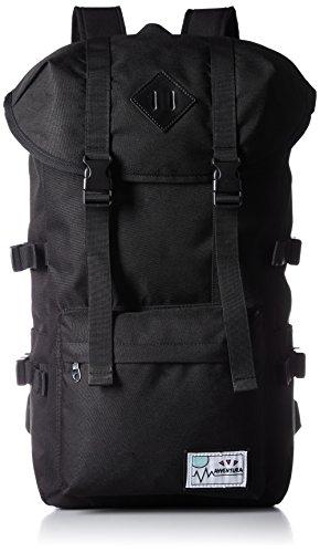 [アベンチュラ] ナイロンマウンテンリュック  NM-1526 BK ブラック