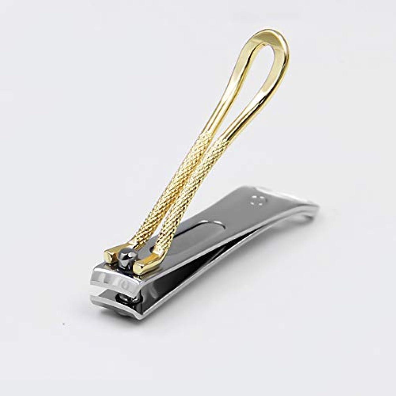 味付け爪武装解除トゥルーゴールドカラーの小さな爪切り、RIMEI記念モデル、女性、6.4x1.1cm
