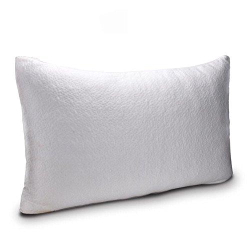 Wancle安眠枕ピロー 人間工学設計の快眠枕 調節可能 脱着可能な洗えるメモリ泡の枕 首・頭・肩をやさしく支える健康枕 (ラージ, 35)
