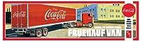 AMT 1/25 フルハーフ・ビーディッドバン セミトレーラー (コカ・コーラ) プラモデル AMT1109