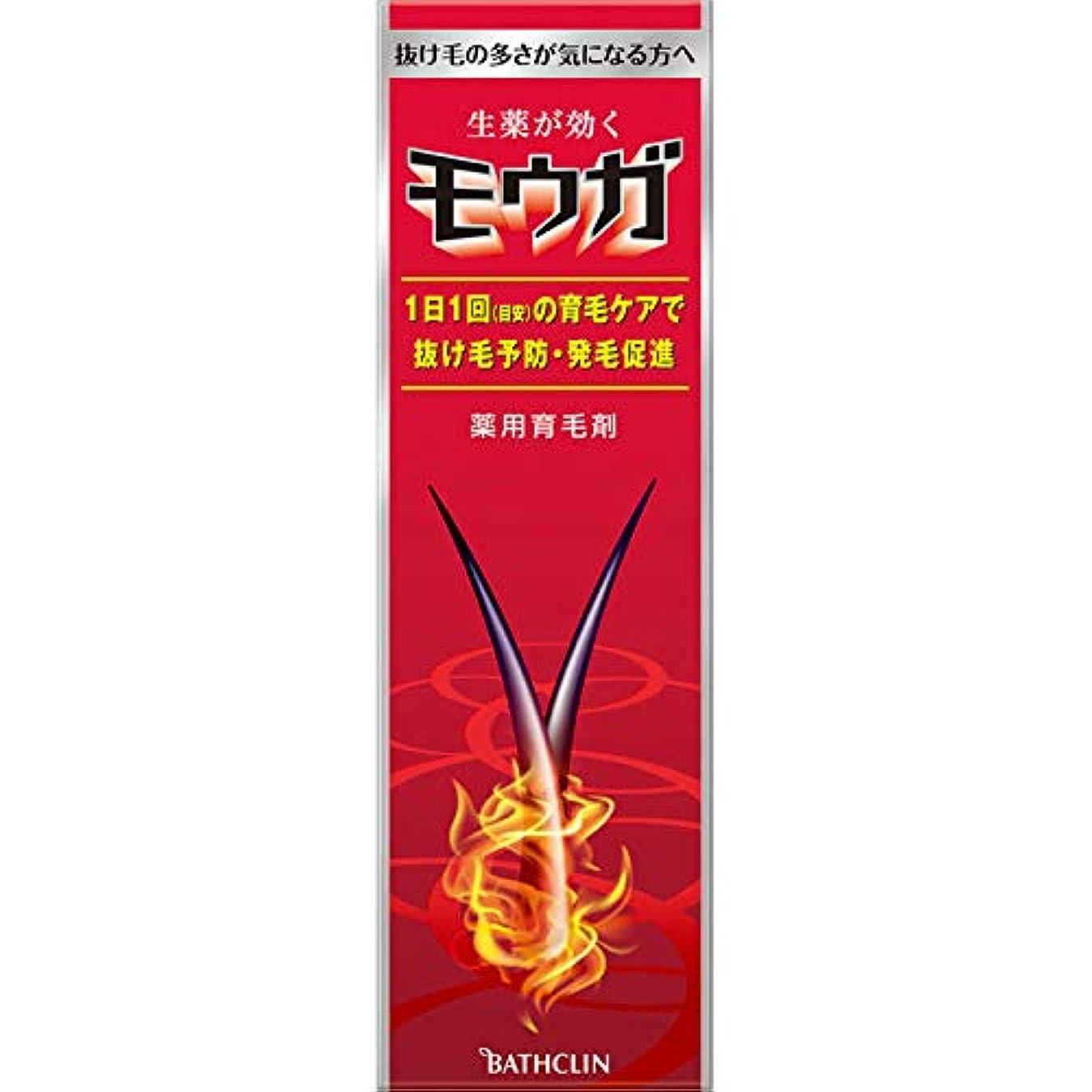 夜後方オフェンスバスクリン モウガ 薬用育毛剤 120ml (医薬部外品)