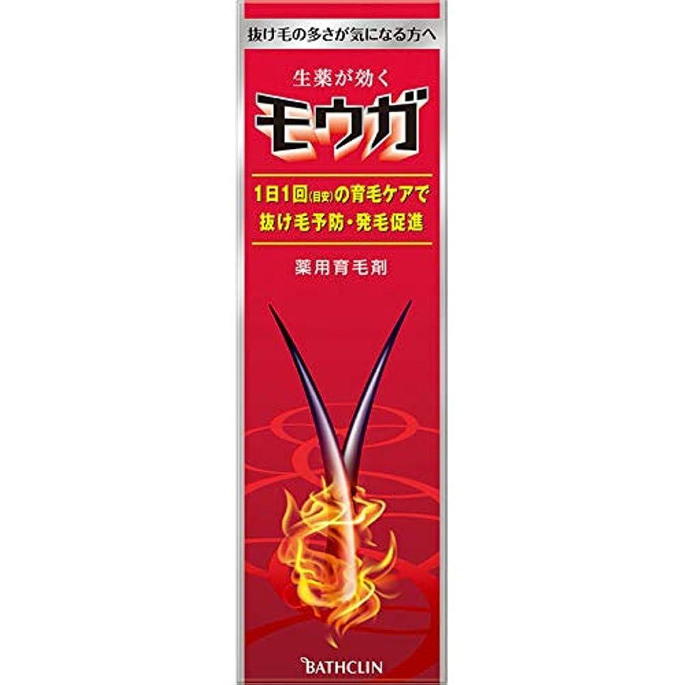 瞑想リスト伝染性のバスクリン モウガ 薬用育毛剤 120ml (医薬部外品)