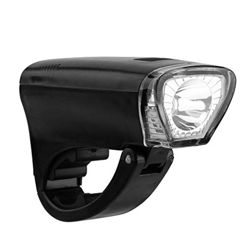 K-outdoor 自転車ヘッドライト 懐中電灯 フロントライト LED 3種点灯モード 電池式