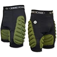 Combat Padded Compression Short for Muay Thai , MMA , Kickboxing