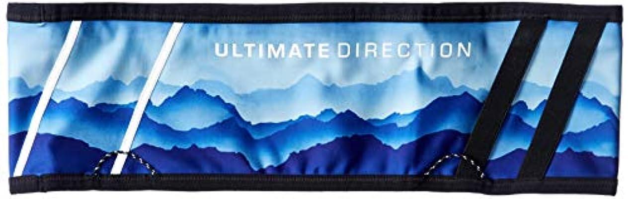 世論調査パラダイスサッカー[アルティメイトディレクション] ハイドレーションバッグ COMFORT BELT Sサイズ Blue Ridge