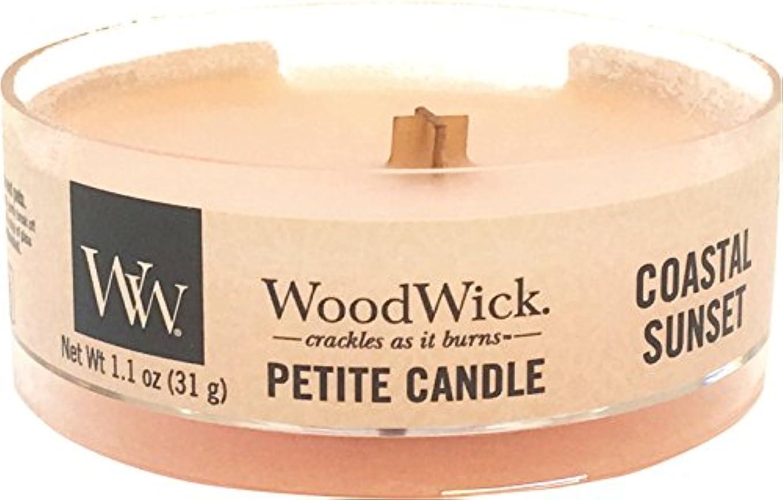 ごめんなさい対ベーカリーWood Wick ウッドウィック プチキャンドル コースタルサンセット