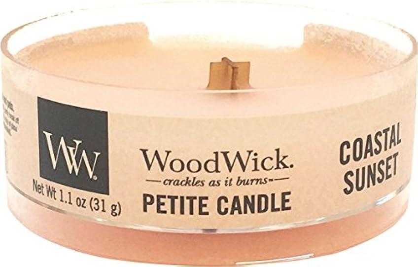 高価な一般的な黒くするWood Wick ウッドウィック プチキャンドル コースタルサンセット