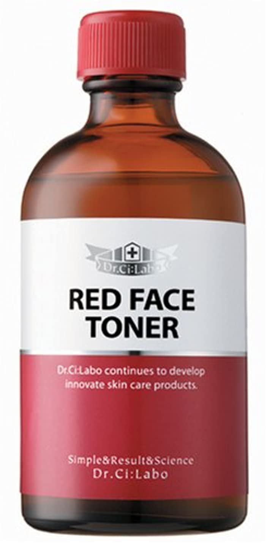 補正お客様始めるドクターシーラボ レッドフェイストナー カラーコントロールローション 110ml 化粧水