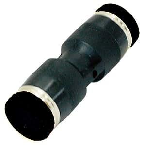 新潟精機 BeHAUS チューブ用ワンタッチ継手 ユニオンストレート チューブ外径:6mm PU6