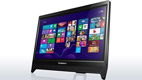 Lenovo C260 Windows8.1 Celeron デュアルコア 2.41GHz 2GB 500GB DVDスーパーマルチ 無線LAN webカメラ HDMI USB3.0 6in1カードリーダー スピーカー内蔵 19.5型液晶一体型デスクトップパソコン(光沢なし)