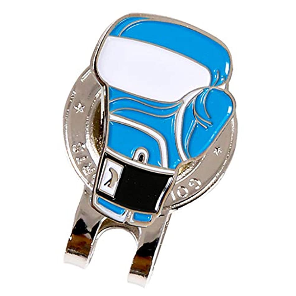 仲間領収書西Sharplace ゴルフハットクリップ 磁気ボールマーカー ゴルフグローブパターン ポータブル ゴルフ用品