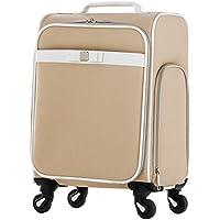 スーツケース 機内持ち込み 【 Ruban d'ange】天使のリボン 4輪 ソフトキャリーケース キャリーバック 小型 南京錠 リボン(10028)