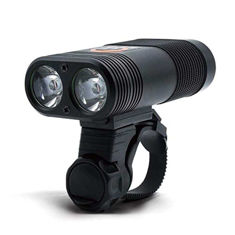 カポック配分ロマンス充電式自転車ライト 自転車用ライト、サイクリング用LED自転車ライトセットUSB充電式自転車ライト、400ハイルーメンフロントおよびリア自転車用セーフティライト