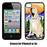 フィラ Carolines Treasures SS8169IP4 Brazilian Mastiff & Fila Brasileiro Cell Phone Cover Iphone4