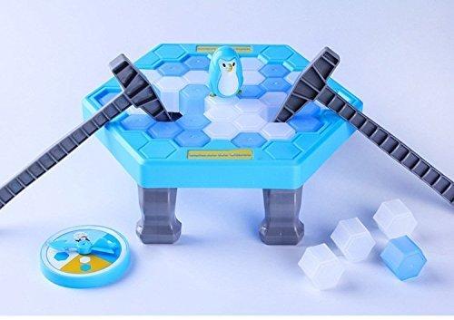 パズルテーブルゲームバランスアイスキューブ保存ペンギンIcebreaker Beating Interactive Destopパーティーゲーム
