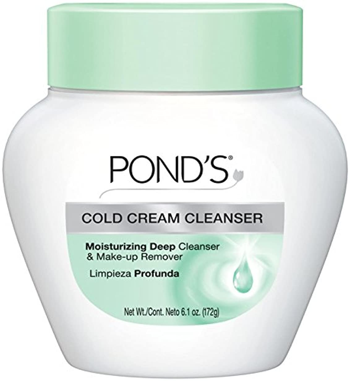 ありふれたの配列群がるPond's Cold Caem The Cool Classic Deep Cleans & Removes Make-Up 170g (並行輸入品)