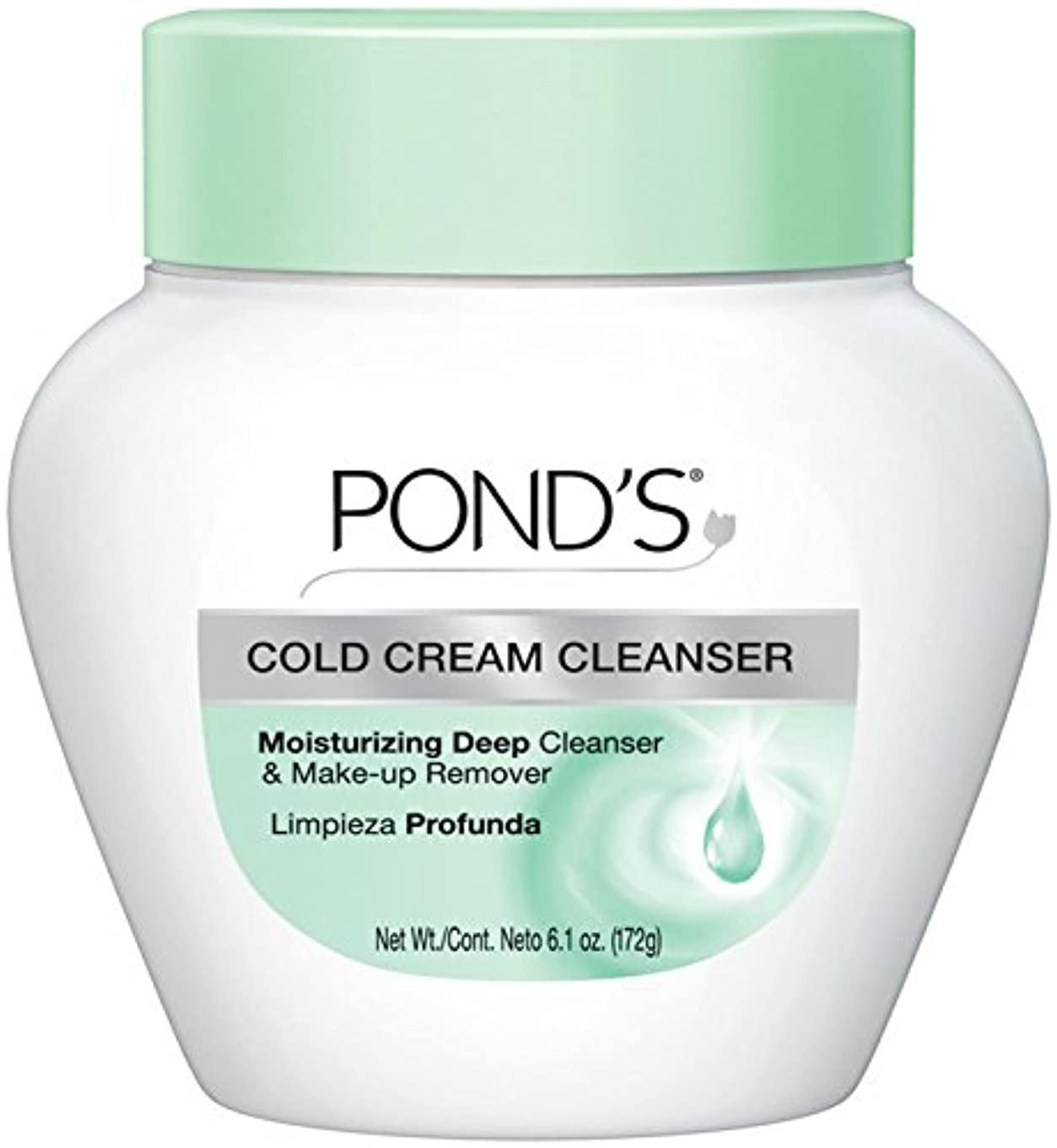 論争の的番目の中でPond's Cold Caem The Cool Classic Deep Cleans & Removes Make-Up 170g (並行輸入品)