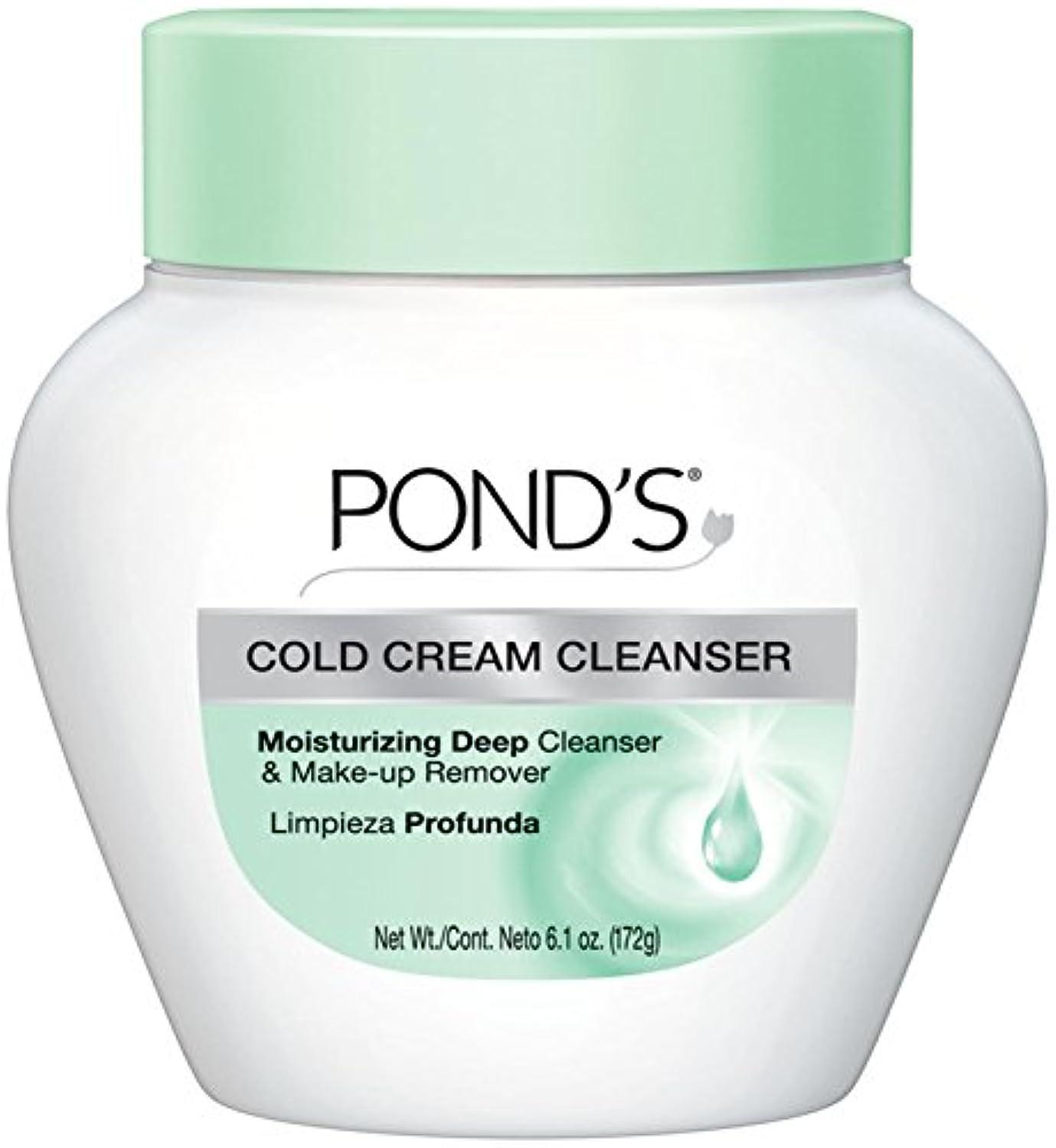 特異なソビエトリマークPond's Cold Caem The Cool Classic Deep Cleans & Removes Make-Up 170g (並行輸入品)