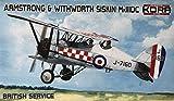 コラモデルス 1/72 イギリス空軍 アームストロング ホイットワース シスキン Mk.3DC プラモデル KORPK72113