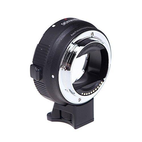レンズマウントアダプター Commlite オートフォーカスEF-NEX EF-EMOUNT FX レンズマウントアダプター Canon EF EF-S レンズ→Sony E マウント NEX 3/3N/5N/5R/7/A7 A7R / A7R II  フ