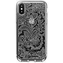 Tech21 Pure Design Liberty Grosvenor Phone Case Cover for iPhone X/Xs - Clear