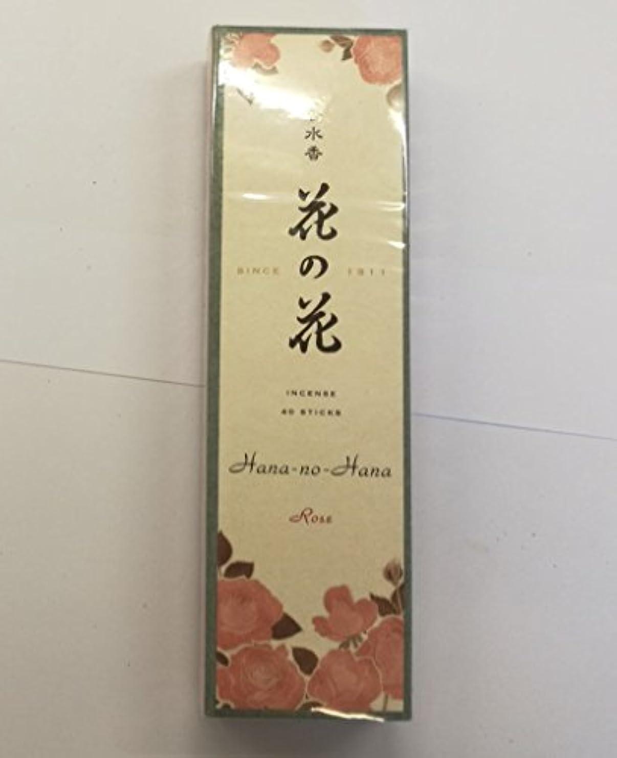 者カウンターパート統計お香 香水香花の花 ばら 長寸40本入(30005)