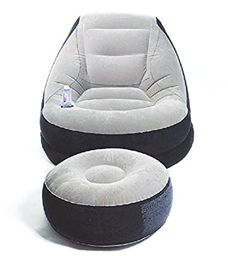 【 体にフィットする 極上の心地よさ 】 エアーソファ ベッド インテリア 収納 オシャレ デザイン オットマン 座椅子 セット 【 空気で膨らむ 】 ZS-LISOFA