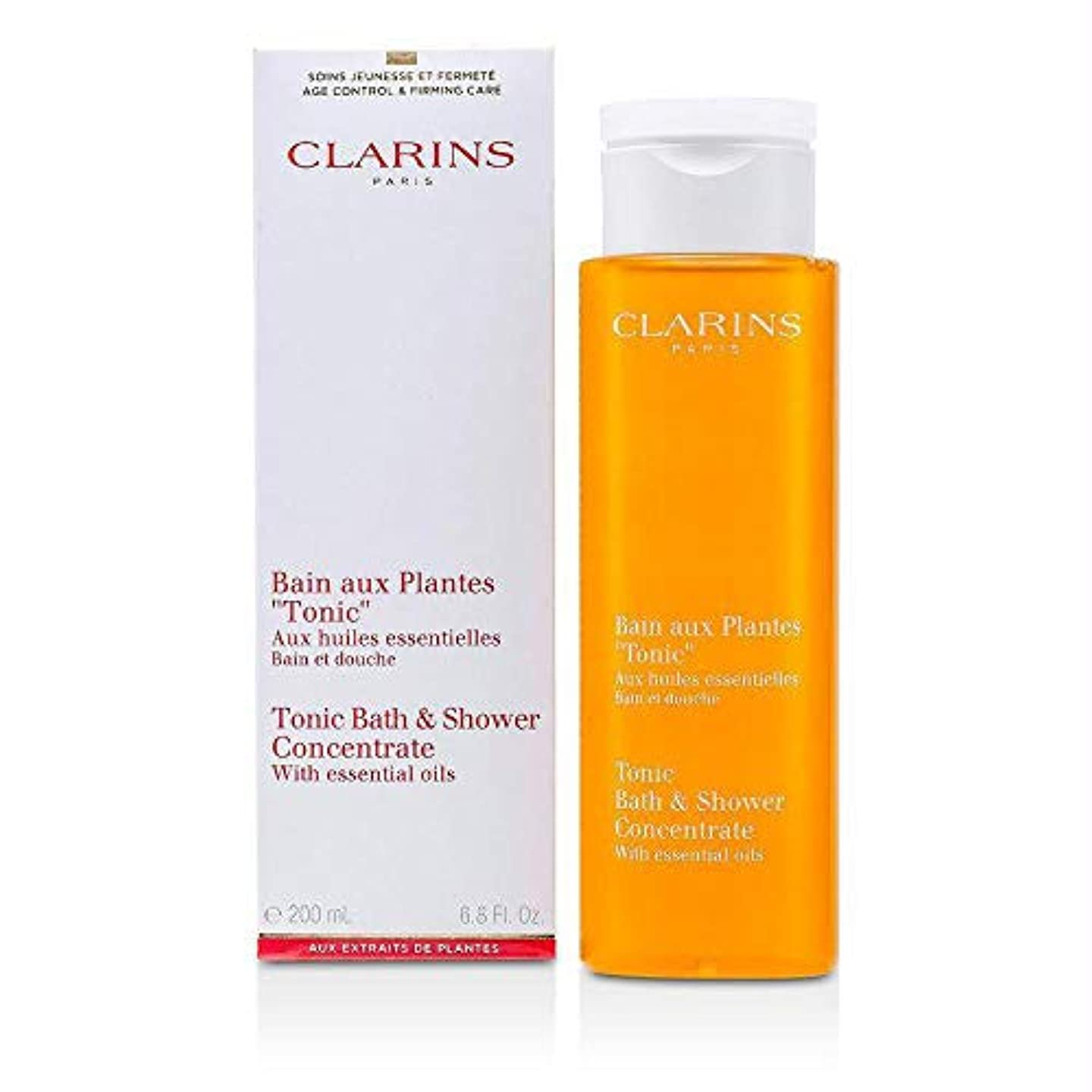 石鹸星触手Clarins Tonic Bath and Shower Concentrate 200ml