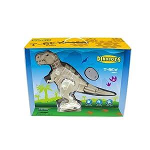 動く木製3Dパズル 完成品 ティラノザウルス RC DA200