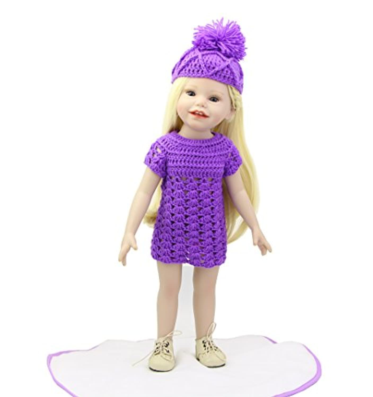 NPK collection 18インチアメリカン人形FullビニールReal Lifelikeファッションプリンセス人形赤ちゃんキッズ誕生日クリスマスギフト