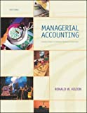 Cover of Managerial Accounting, w. CD-ROM