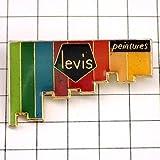 リーバイス 限定 レア ピンバッジ リーバイス色々ペンキ塗り ピンズ フランス